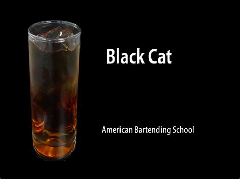 How To Make Cat S Claw Drink For Detox by Black Cat Cocktail Drink Recipe