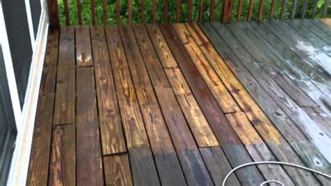 how to clean a patio with a pressure washer cleaning my deck with 1500 psi green works pressure washer