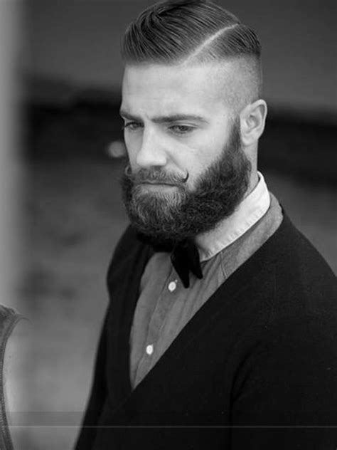 the gentleman fade combover fade haircut with line for men