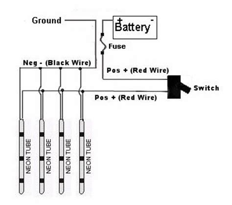 led wiring diagram neon wiring diagrams