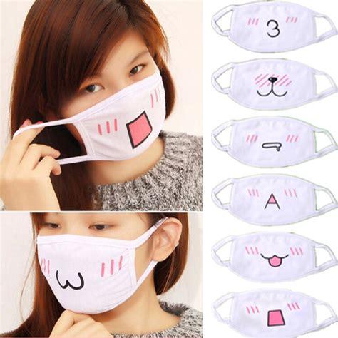 Masker Kawaii aliexpress buy 10pcs kawaii anti dust mask kpop cotton mask anime
