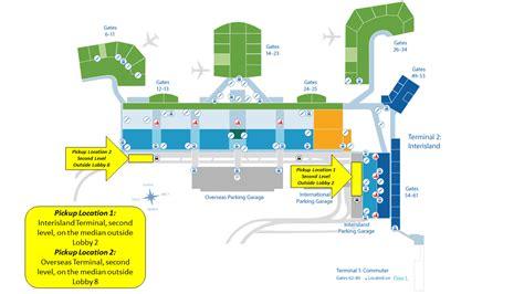 airports uber  lyft pilot program    daniel  inouye international airport dec