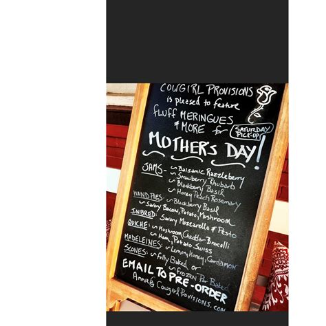 mothers day food specials