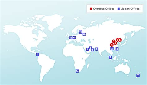 Toyota Locations Toyota Motor Corporation Global Website 75 Years Of