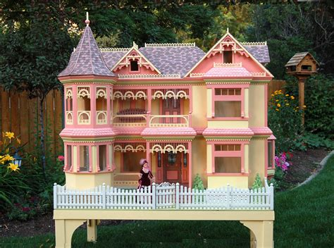 wood doll house plans victorian barbie 174 house woodworking plan forest street