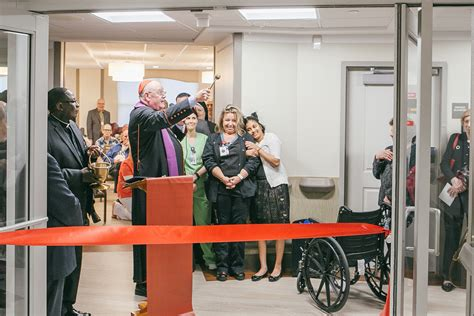 cardinal dolan helps dedicate center for neurodegenerative