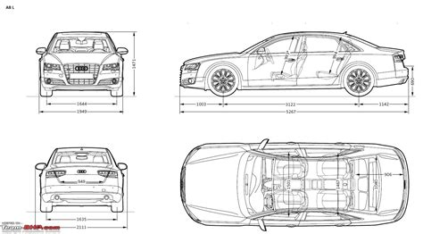 Audi A8l Length by Audi A8 L Details Specs And Prices Team Bhp