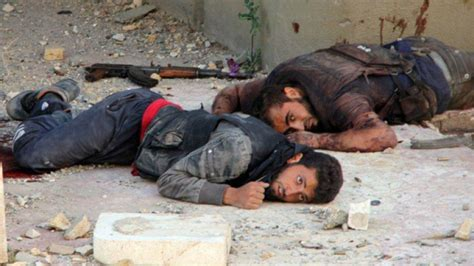 imagenes asquerosas de muertos osdh cifra en 1614 los terroristas muertos en siria