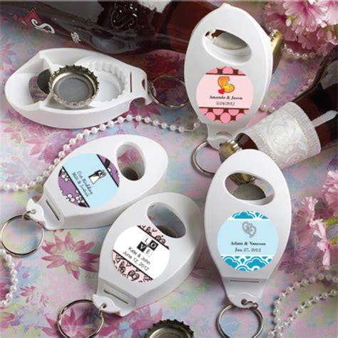 Useful Wedding Giveaways - 120 personalized bottle opener keychain wedding favors ebay