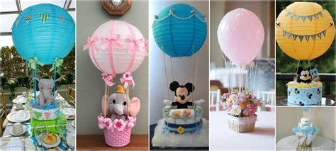 como decorar con globos en un baby shower 12 centros de mesa con forma de globos aerost 225 ticos para