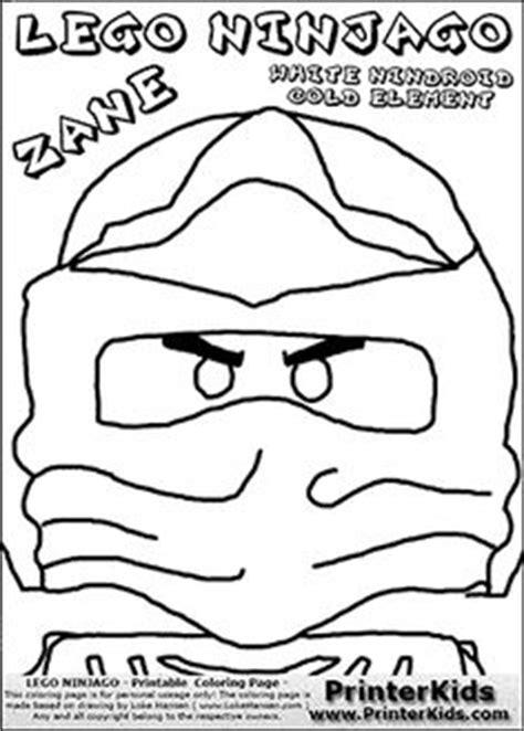 lego ninjago the green ninja my free coloring pages
