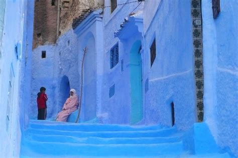 morocco blue city panoramio photo of chefchaouen morocco