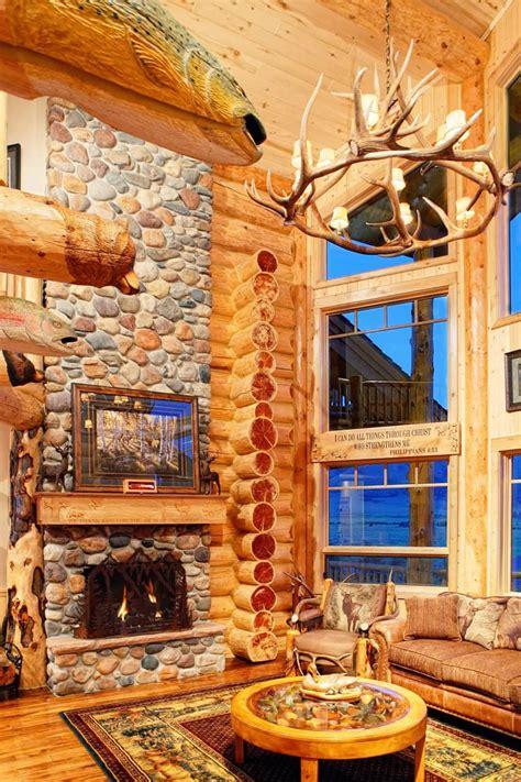 luxury log homes interior exterior designs great