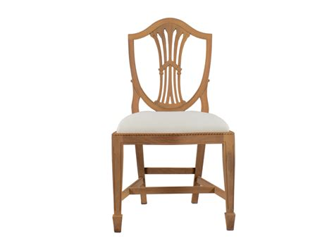 sheraton shield back dining chair mill