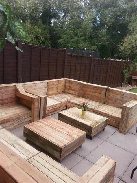 muebles de madera de palets muebles hechos con palets 100 ideas para el hogar