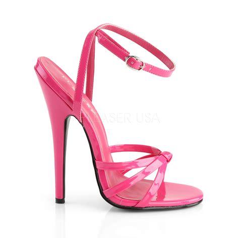 Pink Sandals pleaser devious domina 108 pink sandals
