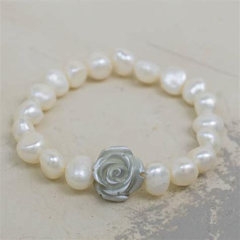silver corsage bracelet by kathy jobson