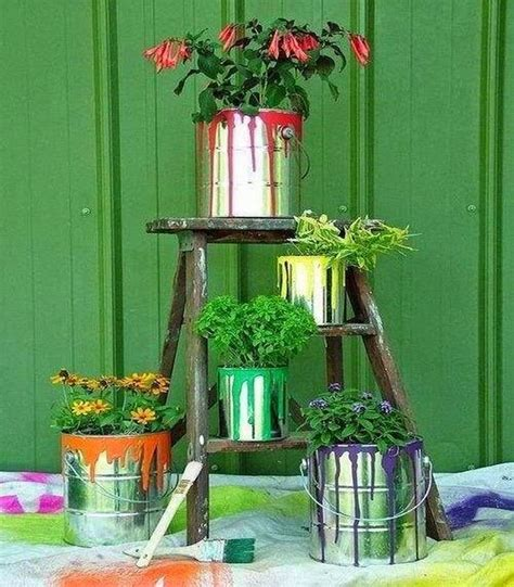 Tin Decor by Upcycled Garden Decor Ideas Recycled Things