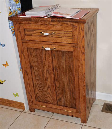 Tilt Out Trash Can Holder Plans Woodideas » Home Design 2017