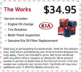 Kia Service Coupons Service Specials Kia Of Lincoln New Used Dealer