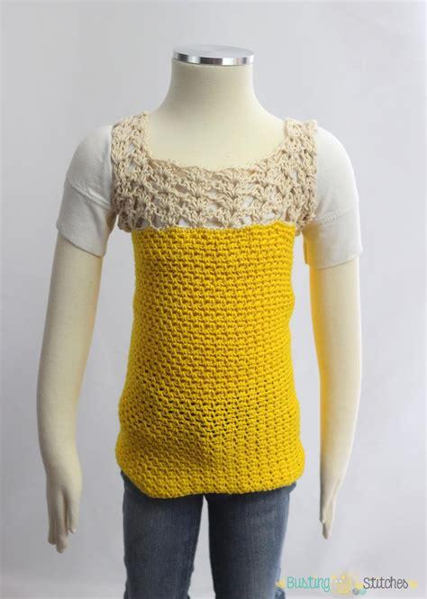 Crochet Oversized Shirt 11173 yellow lacy crochet shirt favecrafts