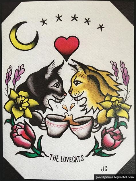 the cure tattoo the cure lovecats flash