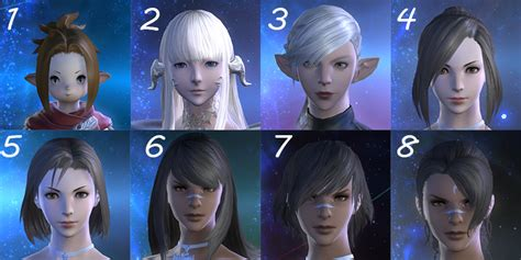 ffxiv change hair colour ffxiv change hairstyle ffxiv male miqo te hairstyles the