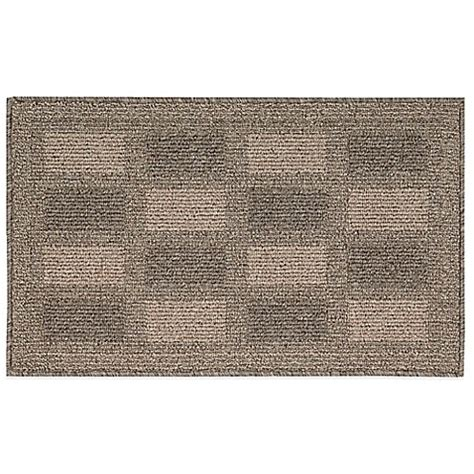 2 X 4 Kitchen Rug Buy Nourison Grid 2 Foot 6 Inch X 4 Foot Kitchen Rug In Taupe From Bed Bath Beyond