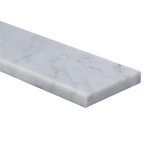 seuil de porte en marbre seuil de porte en marbre 171 carrara 187 3 5 quot x 36 quot blanc rona