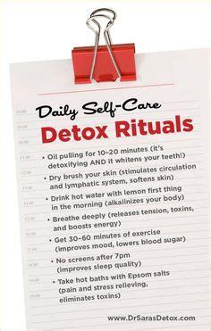 Detox Nursing Notes by Start Brushing To Reduce Cellulite Toxins Health