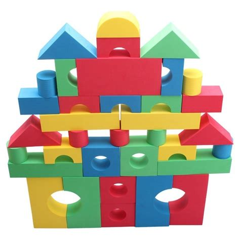 Foam Building Block cheap 68 pcs foam building blocks sale with free delivery magetoy