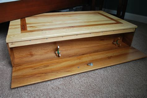 under bed gun storage under bed gun storage by greg s lumberjocks com
