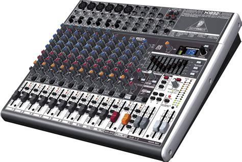 behringer xenyx x1832usb 18 input pa mixer w usb pssl