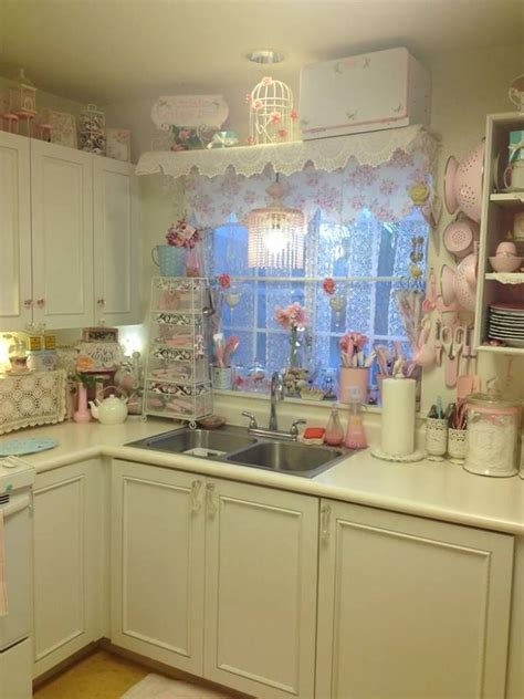 design dapur comel 1590 best shabby chic kitchens images on pinterest