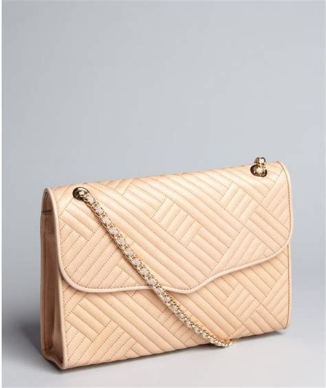 Minkoff Large Quilted Affair by Minkoff Sand Quilted Leather Large Affair Shoulder