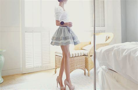 short skirt high heels pictures   images
