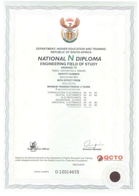 Mba Vs Higher National Diploma by N Diploma Trade Tests N4 N6