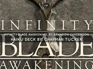 infinity blade awakening infinity blade awakening by chapman tucker