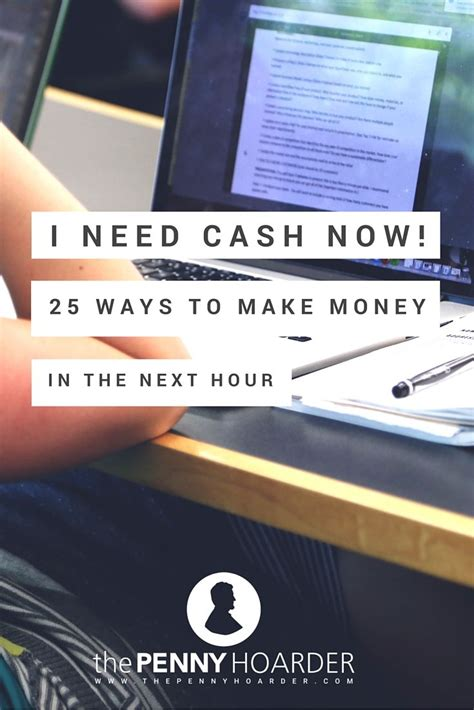 How To Make Money Asap Online - need money asap 25 clever ways to earn cash in the next
