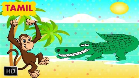 tamil cartoon film youtube panchatantra stories in tamil the monkey and the