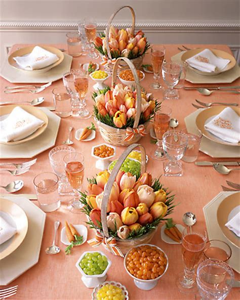 breakfast table ideas home dzine home decor easter table decoration ideas