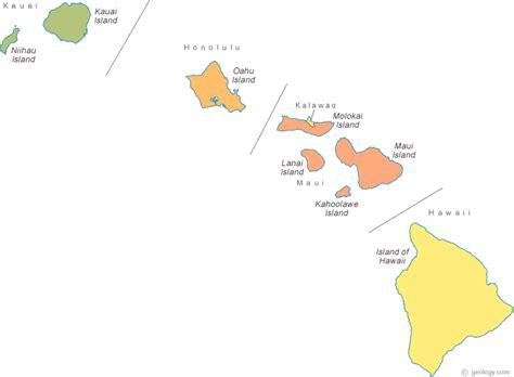 map  hawaii