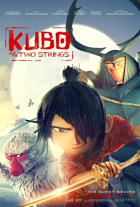 film anime movie kubo and the two strings teaser trailer
