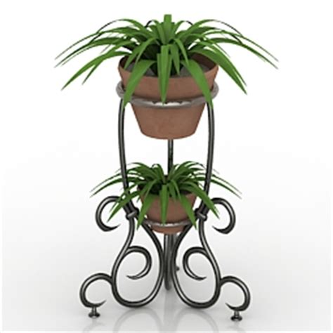 Molding On Kitchen Cabinets House Plants 3d Models Flower Stand N050713 3d Model