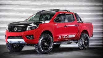 Nissan Frontier Trucks Nissan Frontier Attack Concept Previews Potential New