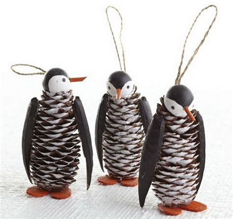 pine cone craft projects penguin crafts for penguin craft