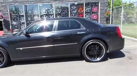 Black Rims For Chrysler 300 by Hillyard Lions 2006 Chrysler 300 On 22 Inch