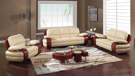Sectional Furniture Sets by Leather Sofa Set Designs An Interior Design