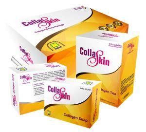 Teh Collaskin 10 suplemen pemutih wajah yang aman dan terbaik