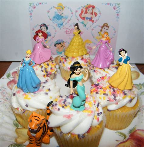 Disney Princess Cake Decorations by Disney Princess Cake Toppers Set Of 7 With